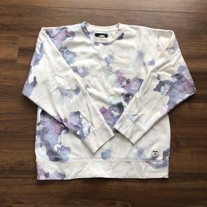 Watercolour crewneck sweater